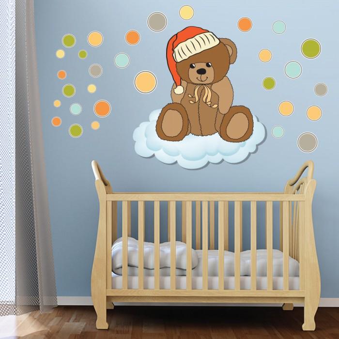 Παιδικό Αυτοκόλλητο Αρκουδάκι - Decotek 11048
