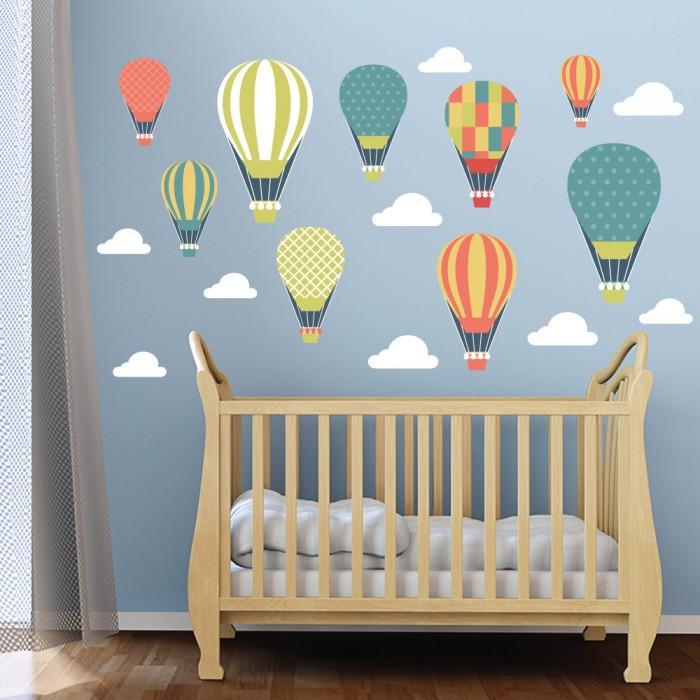 Παιδικό Αυτοκόλλητο Αερόστατα - Decotek 11051