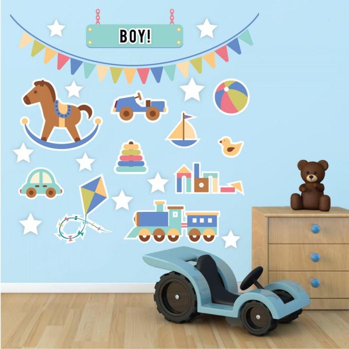 Παιδικό Αυτοκόλλητο Toys - Decotek 11052
