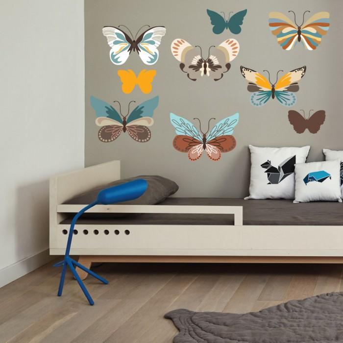 Παιδικό Αυτοκόλλητο Πεταλούδες - Decotek 11053