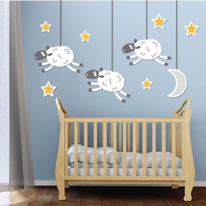 Παιδικό Αυτοκόλλητο Προβατάκια - Decotek 11060