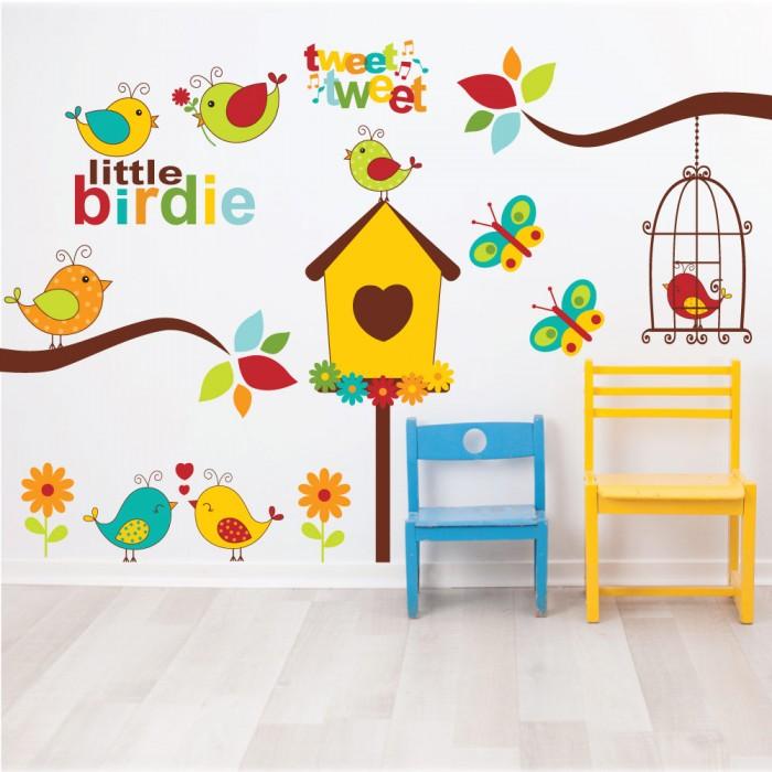Παιδικό Αυτοκόλλητο Little Birdie - Decotek 11065