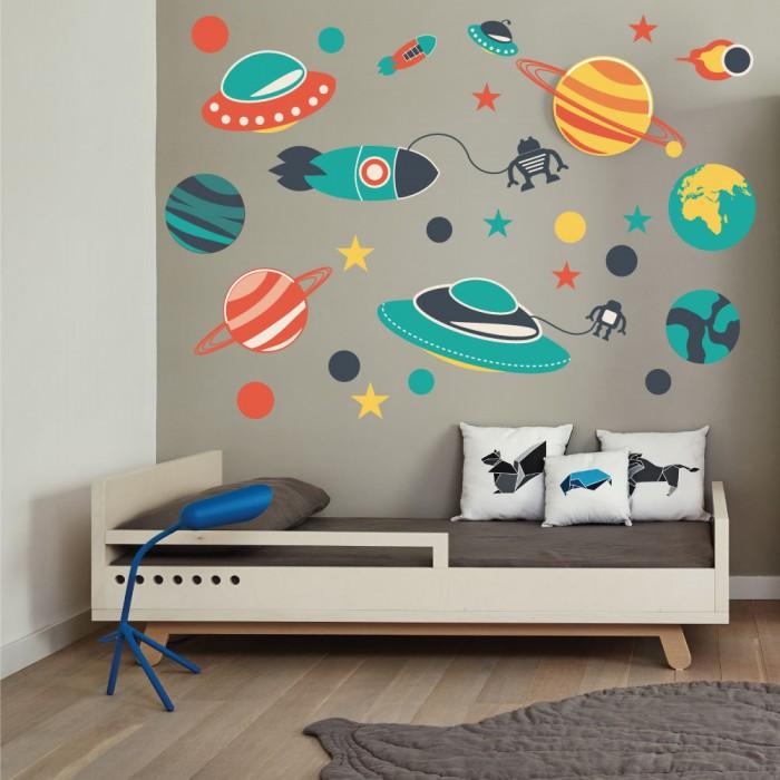 Παιδικό Αυτοκόλλητο Διάστημα - Decotek 11072