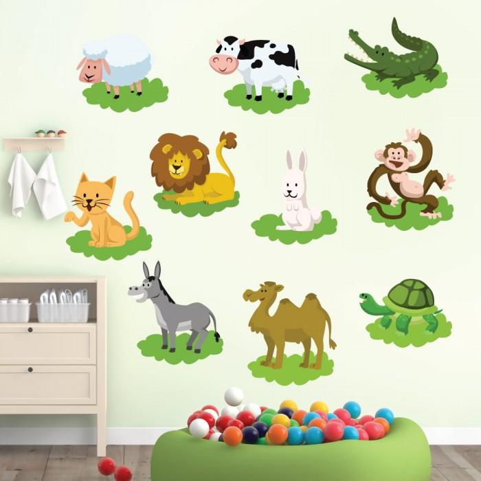 Παιδικό Αυτοκόλλητο Ζωάκια - Decotek 11151