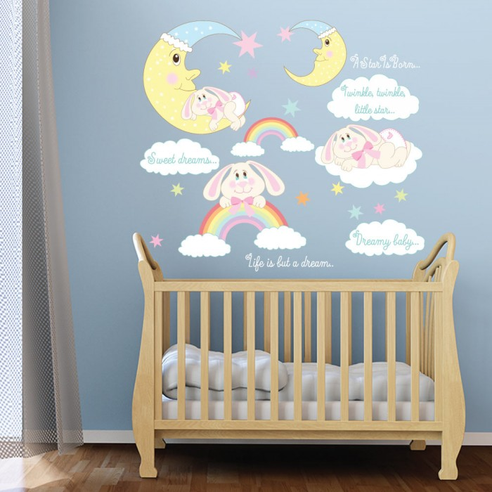 Παιδικό Αυτοκόλλητο Sweet Dreams - Decotek 11152