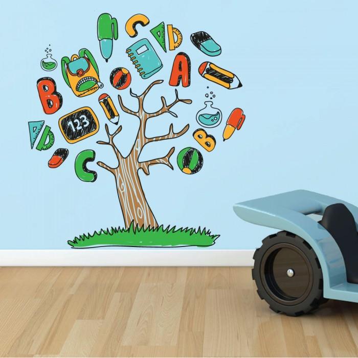 Παιδικό Αυτοκόλλητο Δέντρο της Γνώσης - Decotek 11153
