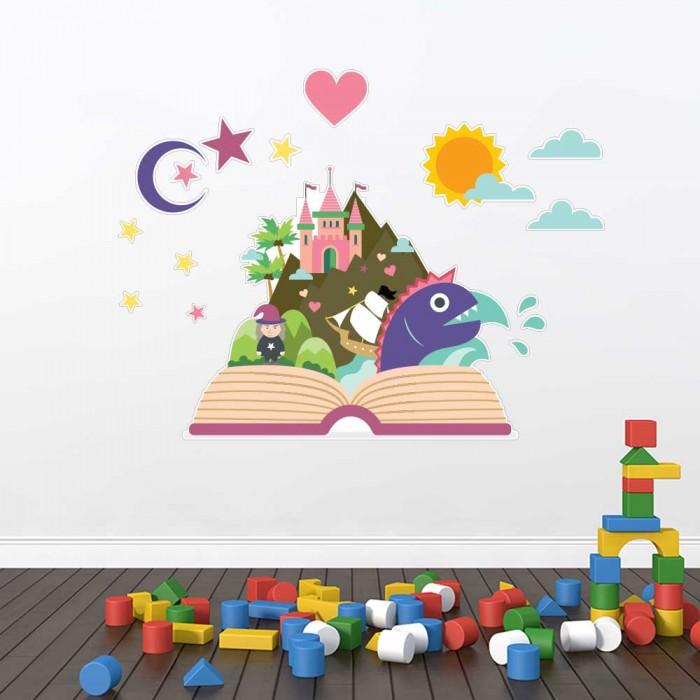 Παιδικό Αυτοκόλλητο Παραμύθι - Decotek 11157