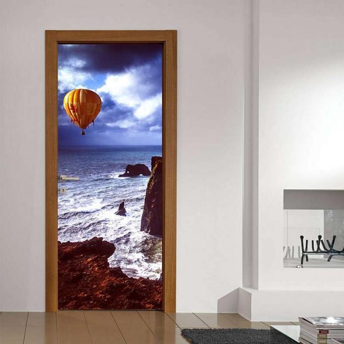 Αυτοκόλλητο Πόρτας Αερόστατο - Decotek 11220