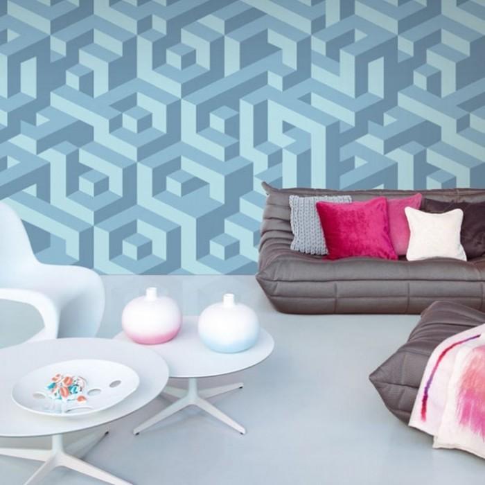 Ταπετσαρία Τοίχου 3D, Γεωμετρικά Σχήματα - Eijffinger, Kaleido - Decotek 321105