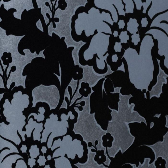 Ταπετσαρία Τοίχου Φλοράλ - Eijffinger, Black & White - Decotek 397511