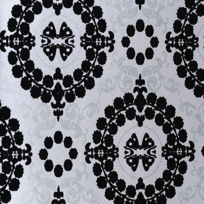 Ταπετσαρία Τοίχου Φλοράλ - Eijffinger, Black & White - Decotek 397516