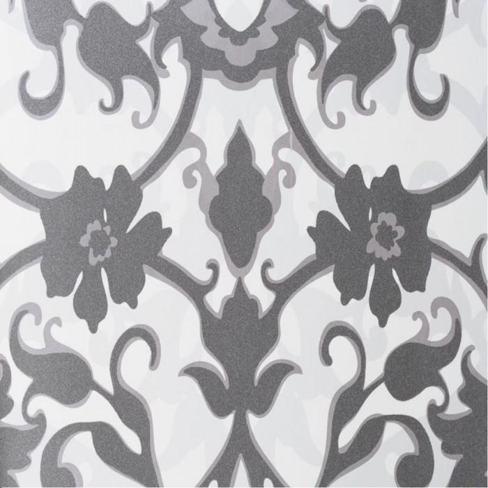 Ταπετσαρία Τοίχου Φλοράλ - Eijffinger, Black & White - Decotek 397541