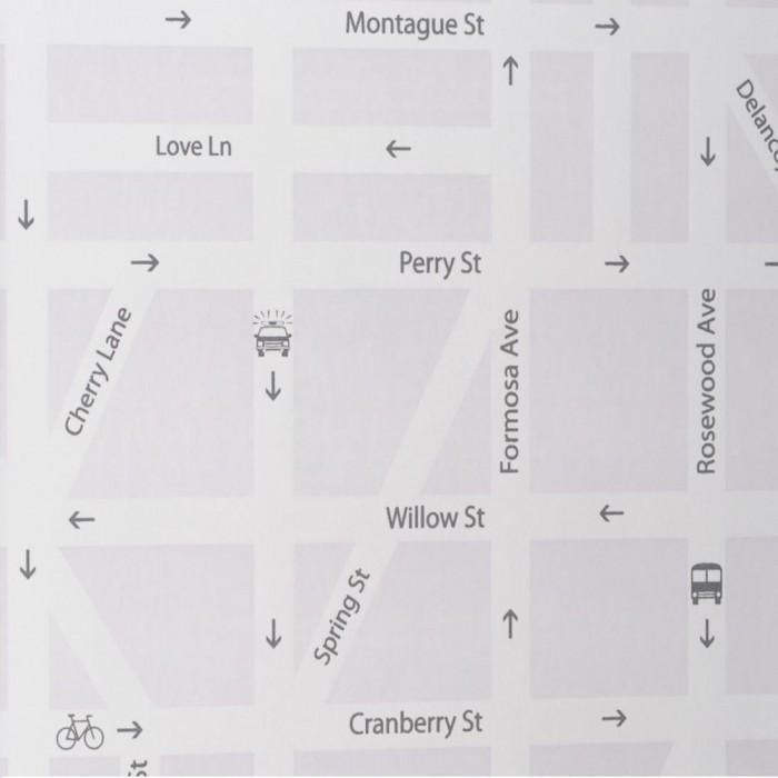 Ταπετσαρία Τοίχου Μοντέρνα, Δρόμοι - Eijffinger, Black & White  - Decotek 397560