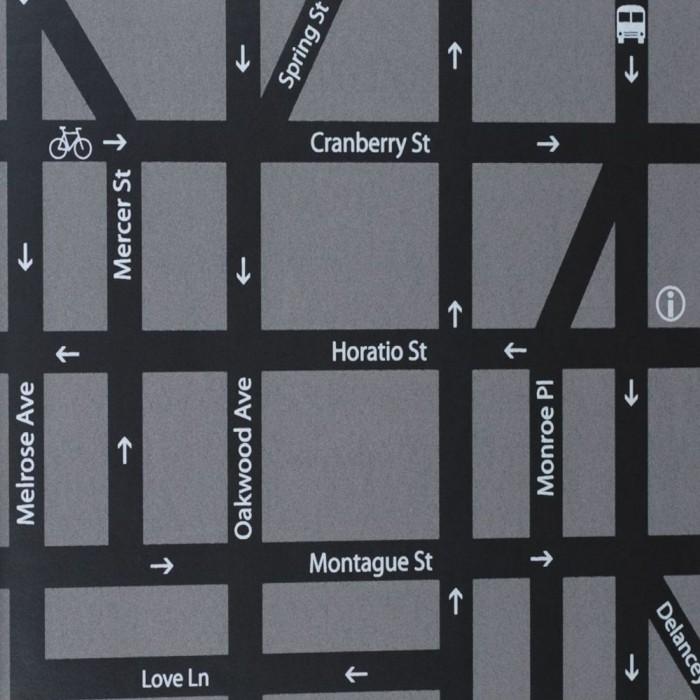 Ταπετσαρία Τοίχου Μοντέρνα, Δρόμοι - Eijffinger, Black & White  - Decotek 397561