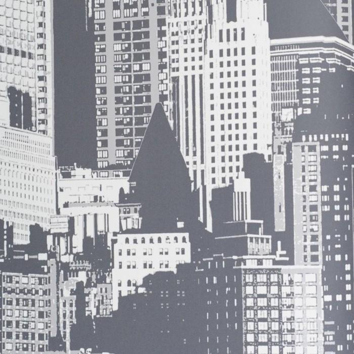 Ταπετσαρία Τοίχου Πόλη - Eijffinger, Black & White - Decotek 397590