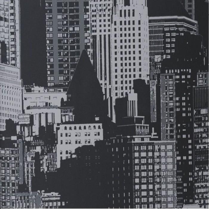 Ταπετσαρία Τοίχου Πόλη - Eijffinger, Black & White - Decotek 397591