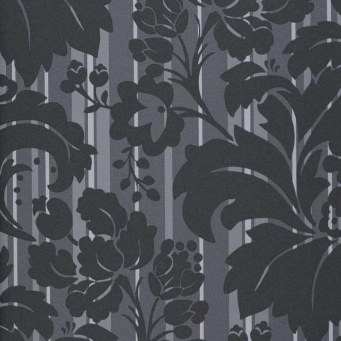 Ταπετσαρία Τοίχου Φλοράλ - Eijffinger, Black & White - Decotek 397601