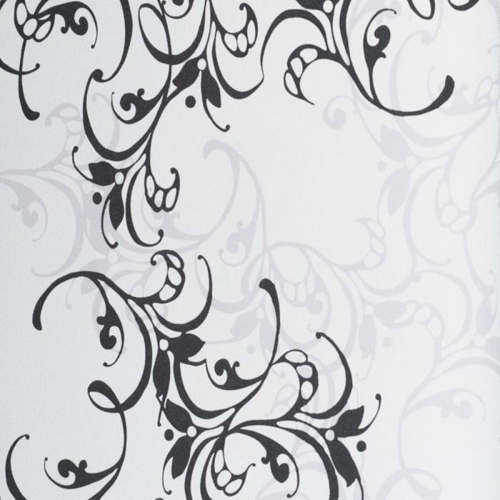 Ταπετσαρία Τοίχου Φλοράλ - Eijffinger, Black & White - Decotek 397610