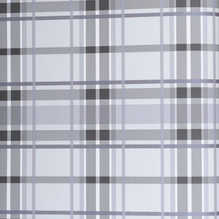 Ταπετσαρία Τοίχου Καρό - Eijffinger, Black & White - Decotek 397640