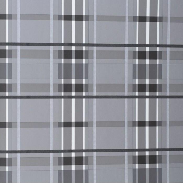 Ταπετσαρία Τοίχου Καρό - Eijffinger, Black & White - Decotek 397641