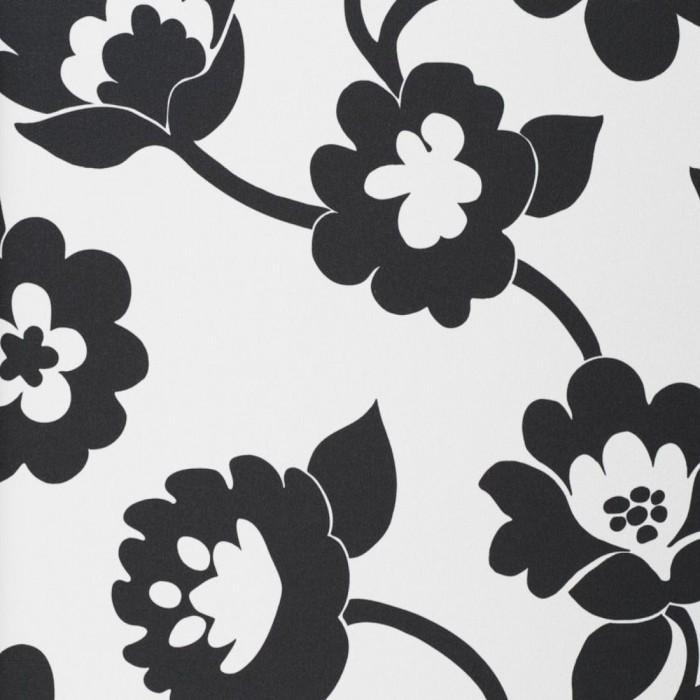 Ταπετσαρία Τοίχου Φλοράλ - Eijffinger, Black & White - Decotek 397660