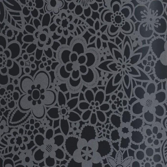 Ταπετσαρία Τοίχου Φλοράλ - Eijffinger, Black & White - Decotek 397671