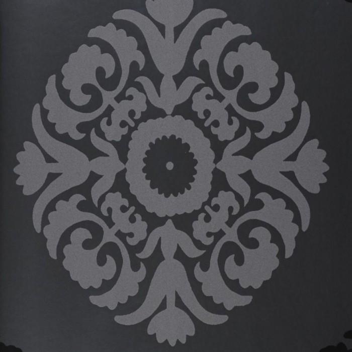 Ταπετσαρία Τοίχου Φλοράλ - Eijffinger, Black & White - Decotek 397680