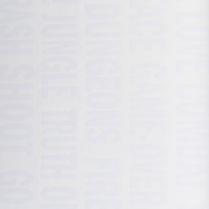 Ταπετσαρία Τοίχου Γράμματα - Eijffinger, Black & White - Decotek 397685