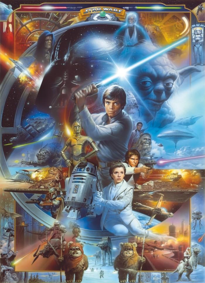 Παιδική Φωτοταπετσαρία Τοίχου Star Wars - Komar - Decotek 4-441