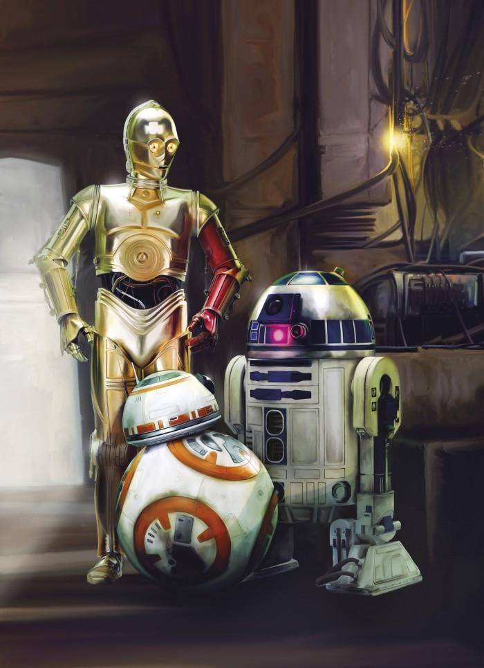 Παιδική Φωτοταπετσαρία Τοίχου Star Wars - Komar - Decotek 4-447