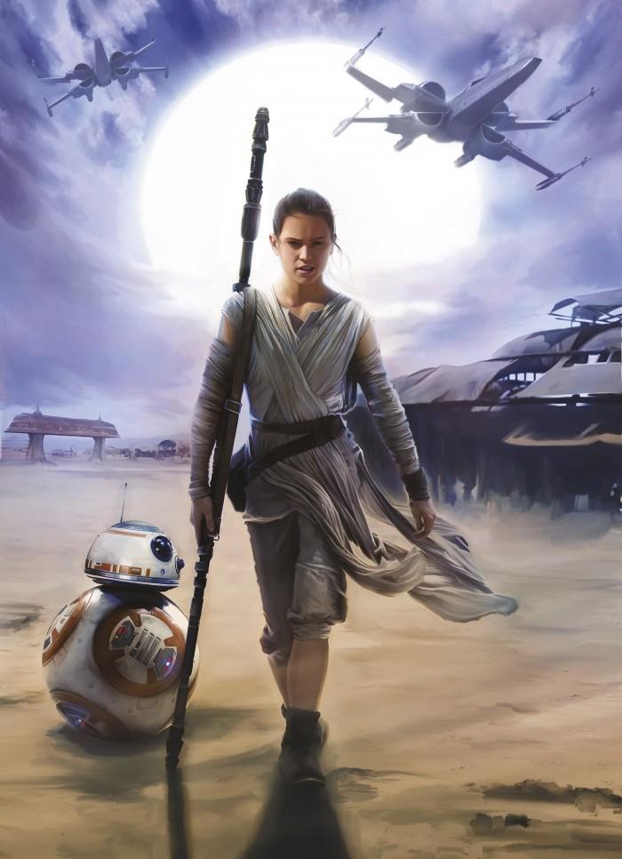 Παιδική Φωτοταπετσαρία Τοίχου Star Wars - Komar - Decotek 4-448