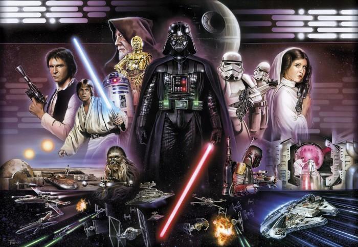 Παιδική Φωτοταπετσαρία Τοίχου Star Wars - Komar - Decotek 8-482