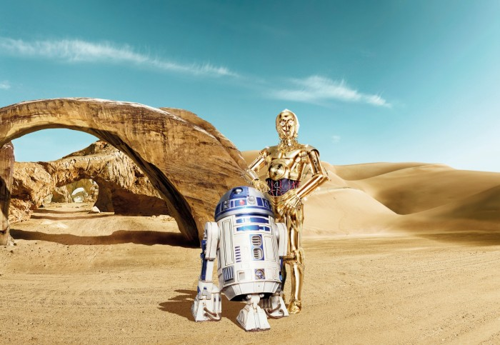 Παιδική Φωτοταπετσαρία Τοίχου Star Wars - Komar - Decotek 8-484