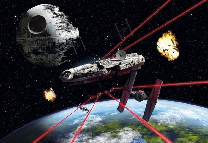 Παιδική Φωτοταπετσαρία Τοίχου Star Wars - Komar - Decotek 8-489