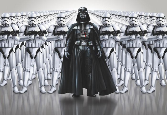 Παιδική Φωτοταπετσαρία Τοίχου Star Wars - Komar - Decotek 8-490