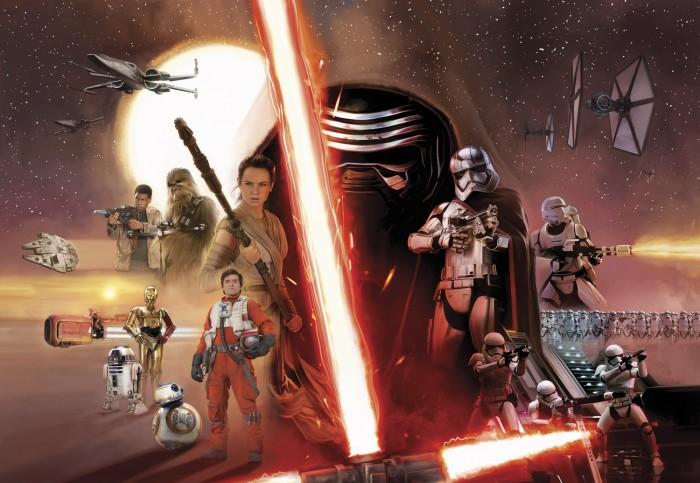 Παιδική Φωτοταπετσαρία Τοίχου Star Wars - Komar - Decotek 8-492