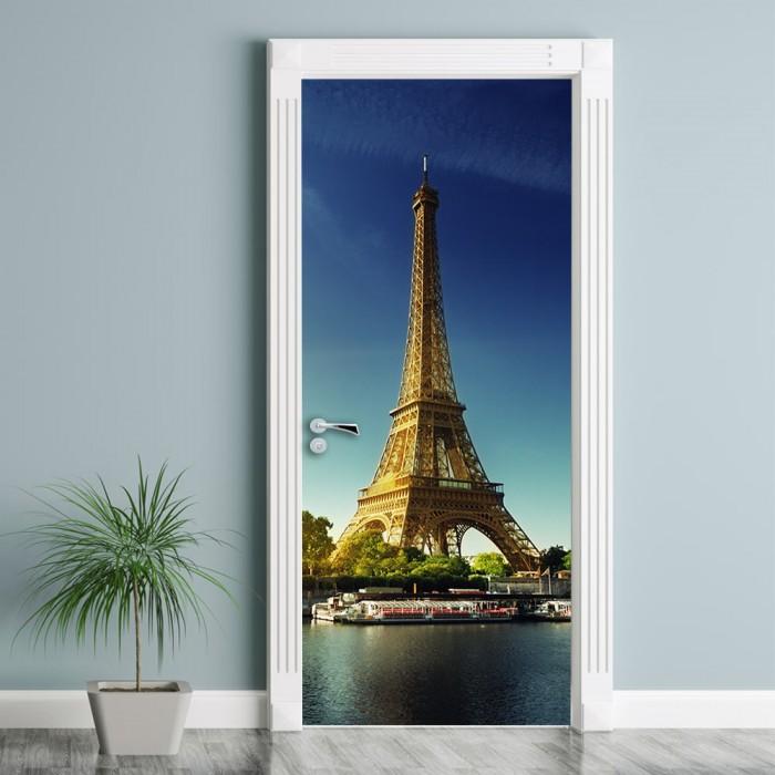 Αυτοκόλλητο Πόρτας Πύργος του Άιφελ - Decotek 25001sp