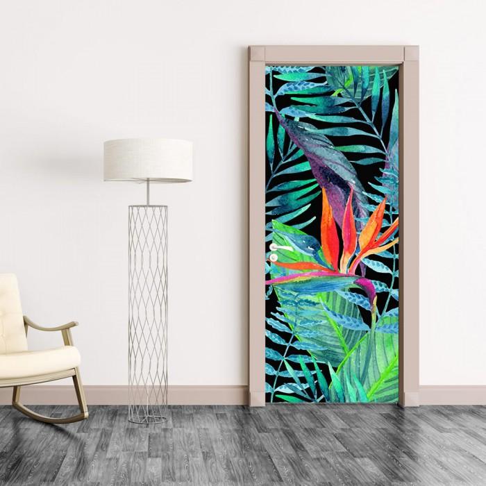 Αυτοκόλλητο Πόρτας Exotic Allium - Decotek 20213