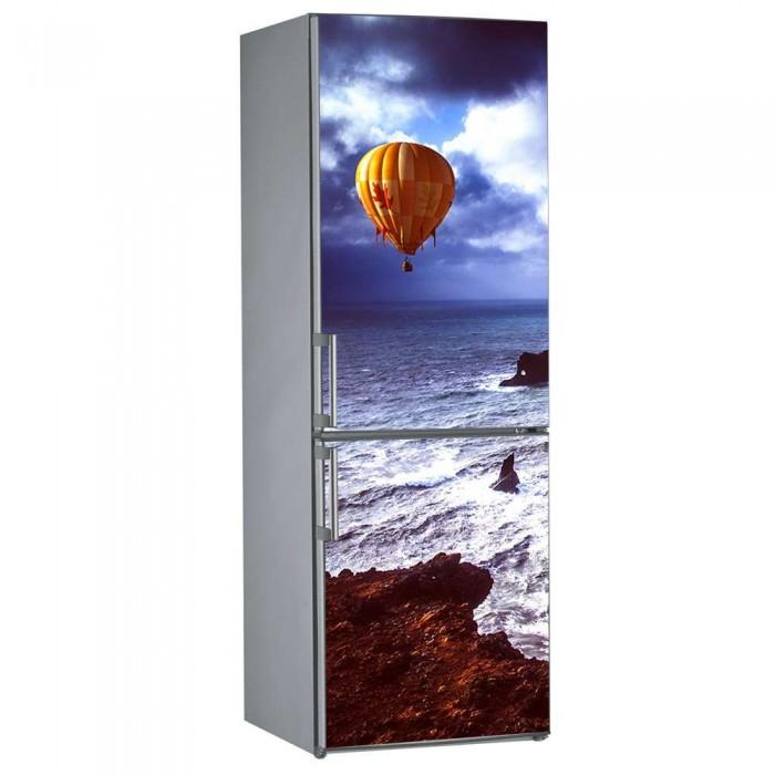 Αυτοκόλλητο Ψυγείου Αερόστατο - Decotek 09825