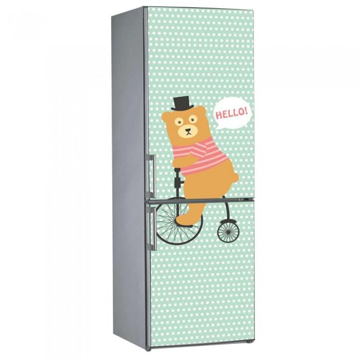 Αυτοκόλλητο Ψυγείου Αρκουδάκι - Decotek 09826