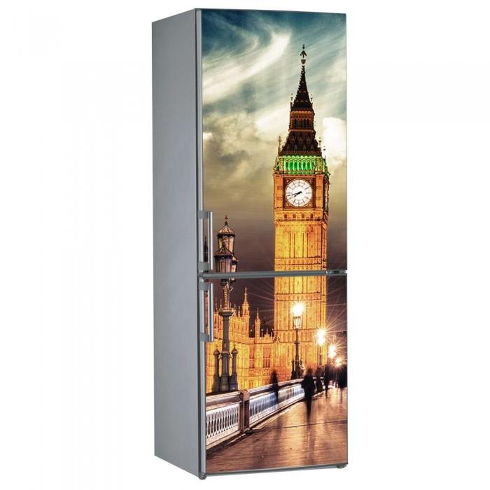 Αυτοκόλλητο Ψυγείου Big Ben - Decotek 09830