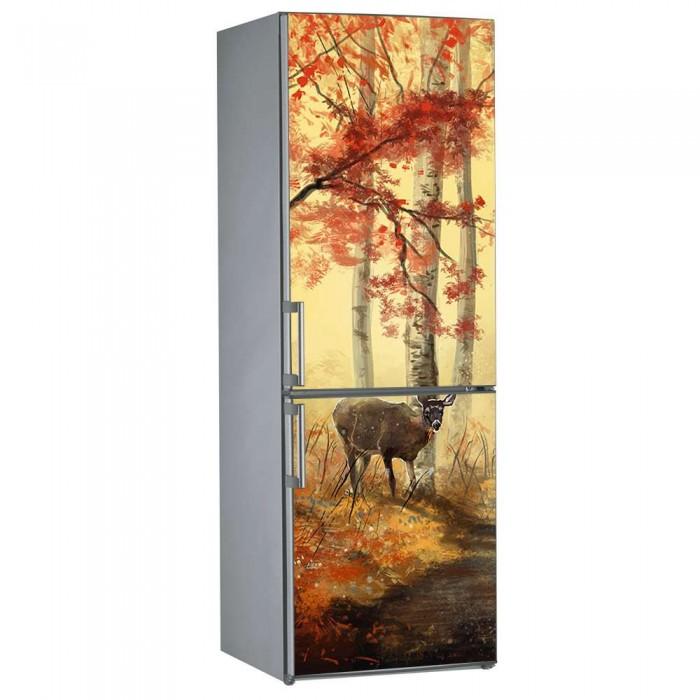 Αυτοκόλλητο Ψυγείου Ελάφι - Decotek 09834