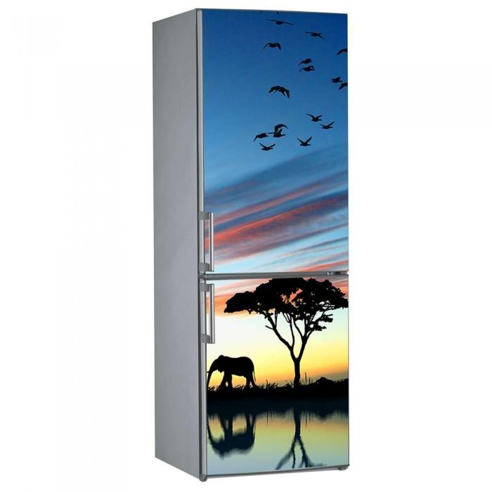 Αυτοκόλλητο Ψυγείου Elephant - Decotek 09837
