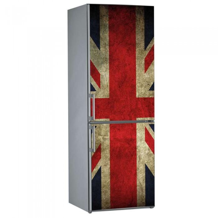 Αυτοκόλλητο Ψυγείου English Flag - Decotek 09838