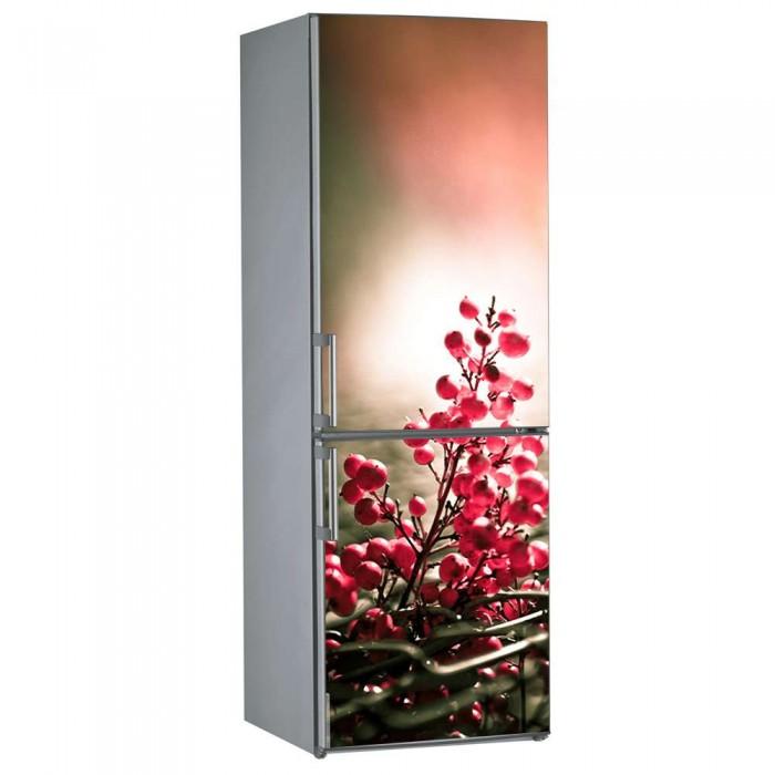 Αυτοκόλλητο Ψυγείου Flowers - Decotek 09842