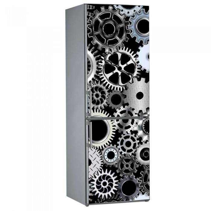 Αυτοκόλλητο Ψυγείου Γρανάζια - Decotek 09845