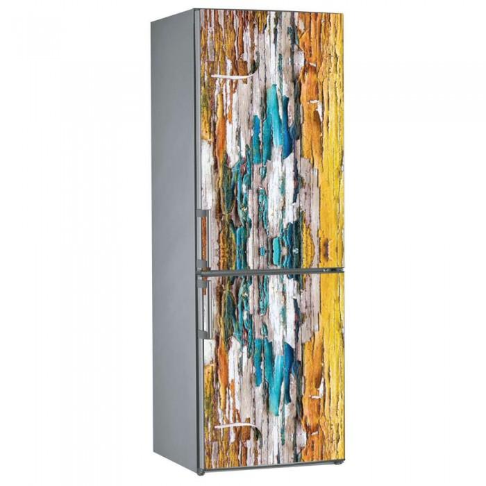 Αυτοκόλλητο Ψυγείου Ξύλο - Decotek 09846