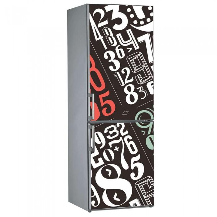 Αυτοκόλλητο Ψυγείου Αριθμοί - Decotek 09855