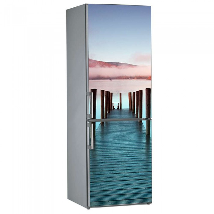 Αυτοκόλλητο Ψυγείου Αποβάθρα - Decotek 09861