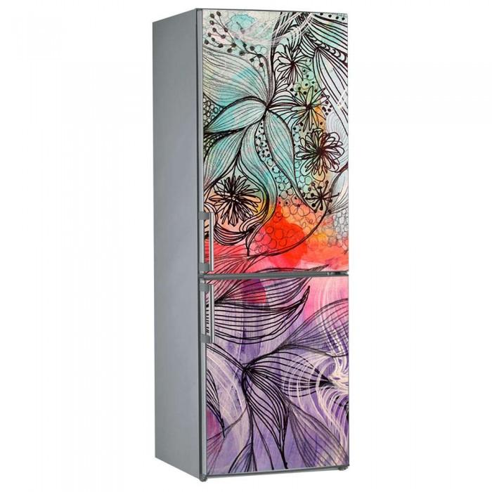 Αυτοκόλλητο Ψυγείου Abstract Art - Decotek 11532